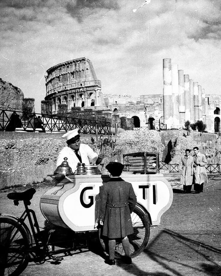 Colosseo, ice cream, 1958